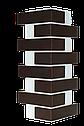 Клінкерна термопанель 1015*600*50 мм з клінкерною плиткою Червона рустикальна, Церрад, фото 4