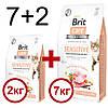 Brit Care(Брит Кеа) Cat GF Sensitive HDigestion & Delicate Taste (чувств.желудок+привередливые) 7 кг