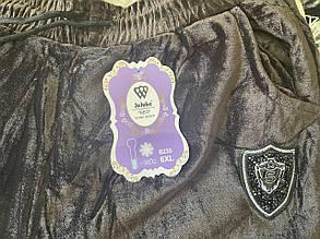 Жіночі штани велюр велетні 4-5-6