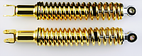 Амортизаторы (пара) GY6, DIO ZX 330mm, стандартные, мягкие NDT (золотистые)