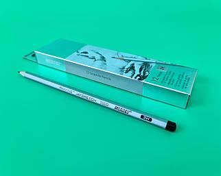 Олівець простий набір 12шт тм. Марко №7000-2H raffine (1 шт)