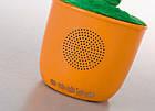 Портативна Bluetooth колонка Dancing Flower G26, Orange, Танцює і співає квітка Помаранчева, фото 4