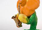Портативна Bluetooth колонка Dancing Flower G26, Orange, Танцює і співає квітка Помаранчева, фото 3