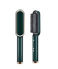 Гребінець-випрямляч Hair Straightener HQT-909В з турмаліновим покриттям, праска, 6 температурних режимів, фото 3