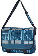Бесподобная молодежная сумка Daniel Ray полиэстер 43,554902 синяя