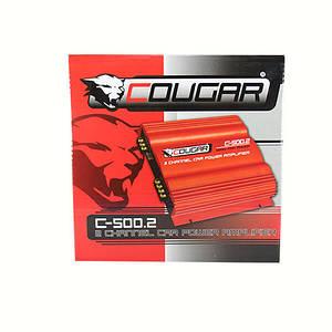 Автомобильный усилитель Cougar CAR AMP 500.4 , авто усилитель мощности звука, усилитель в машину