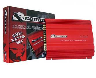 Автомобильный усилитель CAR AMP 500.2  Фирменный усилитель Cougar Пиковая мощность 1000W Количество каналов 2