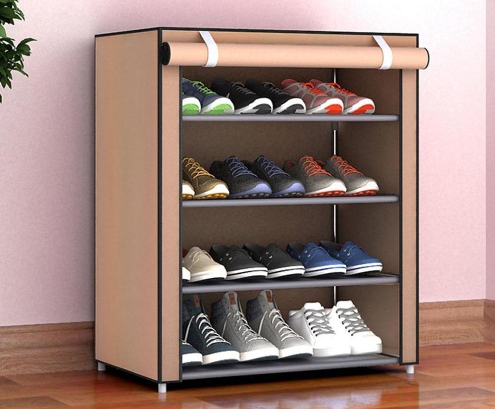 Полка-шкаф для обуви тканевая A-5 90/56/27