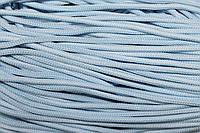 Шнур 5мм с наполнителем (200м) голубой + белый