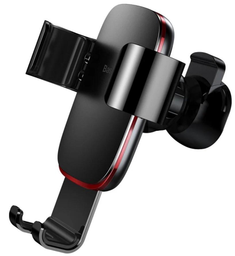Автомобильный держатель для мобильного телефона Baseus Metal Age Gravity на воздуховод  пластик алюминий