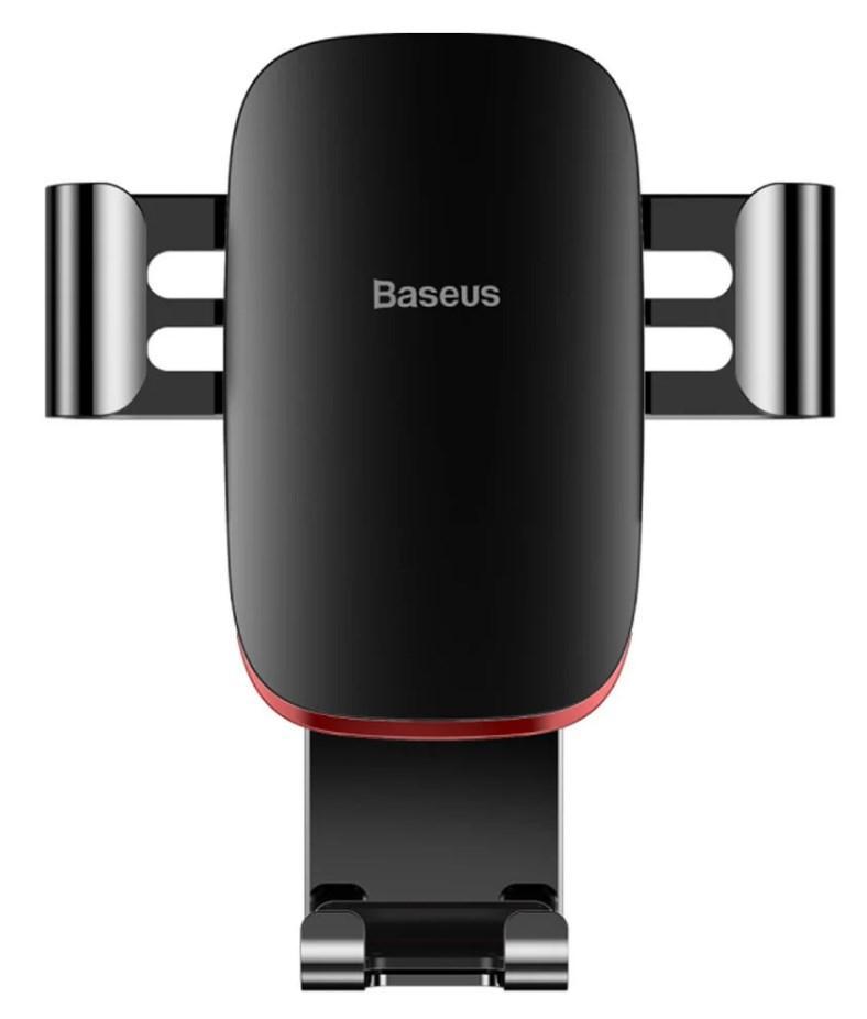 Автотримач мобільного телефону Baseus Metal Age Gravity до повітропроводу пластик алюміній