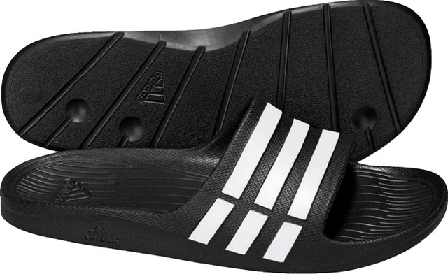 Сланцы Adidas Duramo Slide Белый/Черный G15890 оригинал