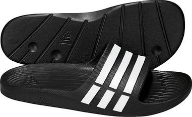 Сланцы Adidas Duramo Slide Белый/Черный G15890