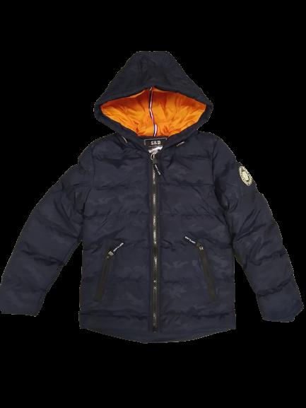 Утеплена куртка щільна для хлопчиків підлітків 134 см, 158 см