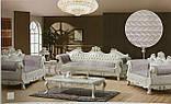Накидки на диван и два кресла велюровые Размер 90х160см -2шт и 90х210см-1шт качественные дивандеки, фото 2