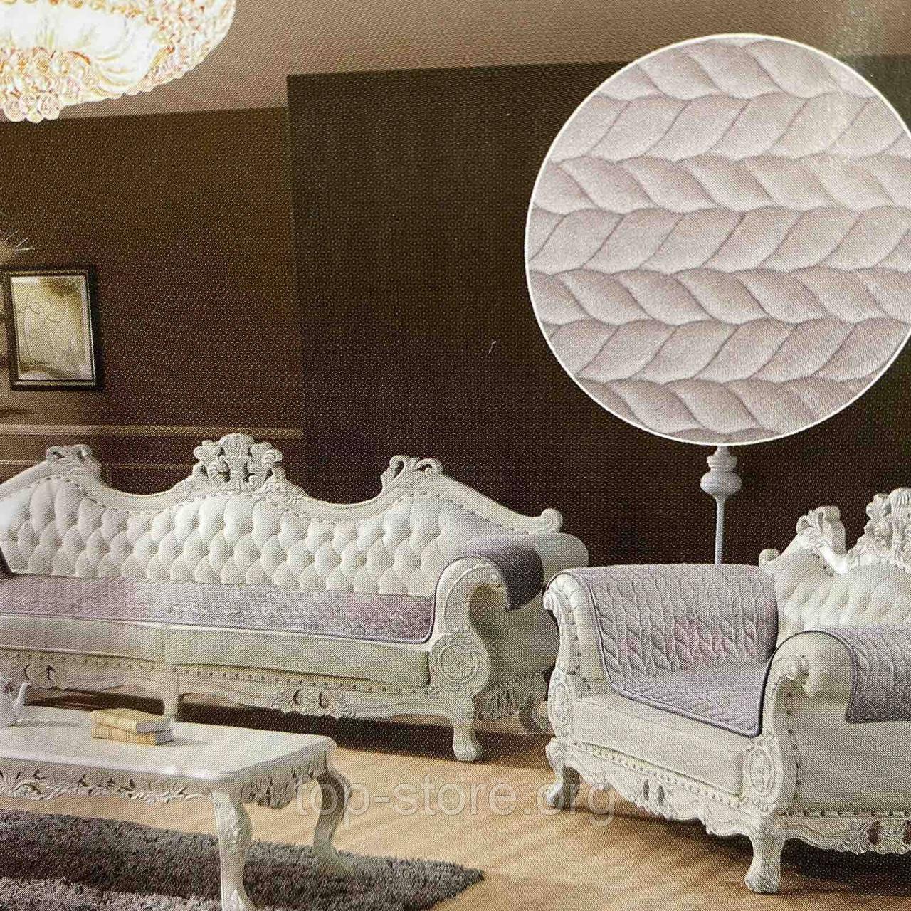 Накидки на диван и два кресла велюровые Размер 90х160см -2шт и 90х210см-1шт качественные дивандеки
