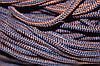 Шнур 5мм с наполнителем (200м) синий + коричневый