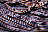 Шнур 5мм с наполнителем (200м) синий + коричневый , фото 1
