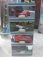 Детский пластиковый комод авто 10 элиф