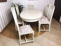 Комплект стол и стулья Рококо (6шт)