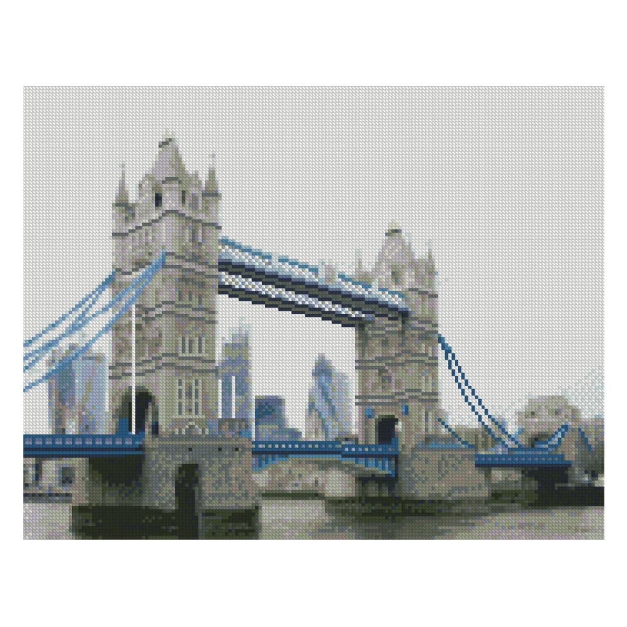 Завораживающий взгляд 40x50 см. Tower Bridge Strateg