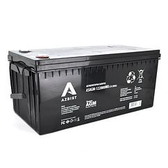 Акумулятор ASBIST Super AGM ASAGM-122000M8, Black Case, 12V 200.0 Ah ( 522 х 240 х 219 (224) ) Q1