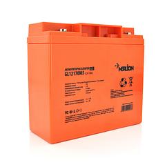 Акумуляторна батарея MERLION GL12170M5 12 V 17Ah ( 180 x 78 x 165 (168)) Q4
