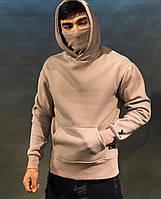 Мужское стильное худи с капюшоном и хомутом, фото 1
