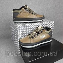 Чоловічі зимові кросівки в стилі New Balance 754 високі хакі