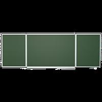 Школьная доска магнитная меловая 3х1 м Эрудит