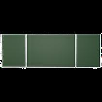 Школьная доска магнитная меловая 3х1 м Интеллект