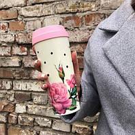 Термочашку Rose термочашка чаша-термос термочашку автомобільні термокружки термос для чаю