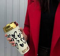 Термокружка термочашка чаша-термос термочашку автомобільні термокружки термос для чаю