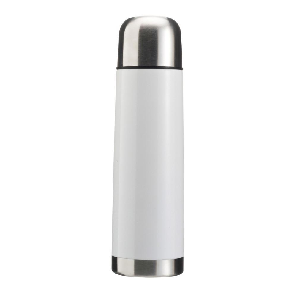 Термос металлический V4100-02 500 мл, белый