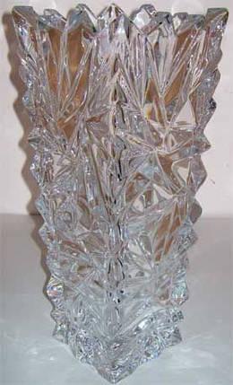 """Ваза BOHEMIA """"Лед"""" 1704 (30,5 см), фото 2"""