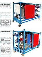 ОМГ-50 Мобильная установка для очистки масляных гидросистем.