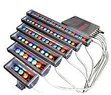Кольорові Лінійні Led світильники RGB LS Line