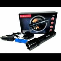 Электро шокер-фонарик 1102 Police Сьемный аккумулятор