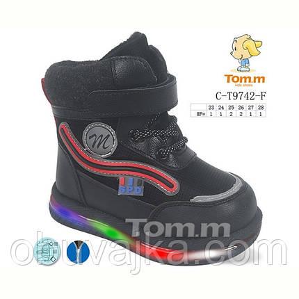Зимове взуття оптом Дитячі дутики для хлопчиків від фірми Tom m (23-28), фото 2