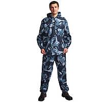 Костюм синий камуфляжный охрана