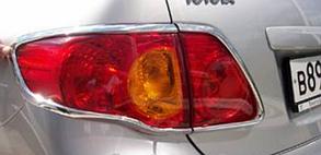 Накладки на задние фонари Toyota Corolla (2007+)