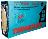 Вата ТЕРМО ЛАЙФ Фасад 2,4м2 (1000*600* 50.) пл.-135