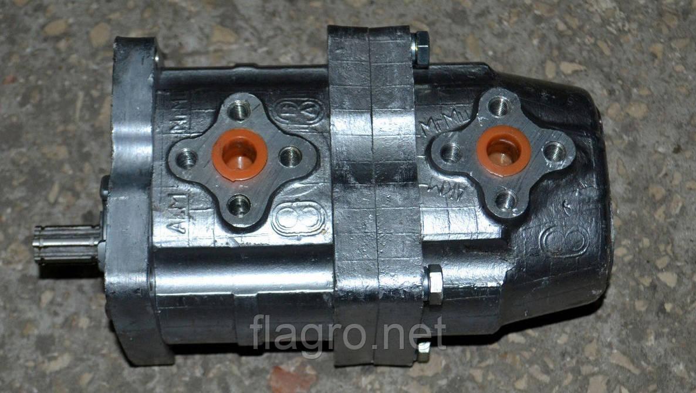 Насос шестеренный НШ-10-10, 6-ти шлицевой