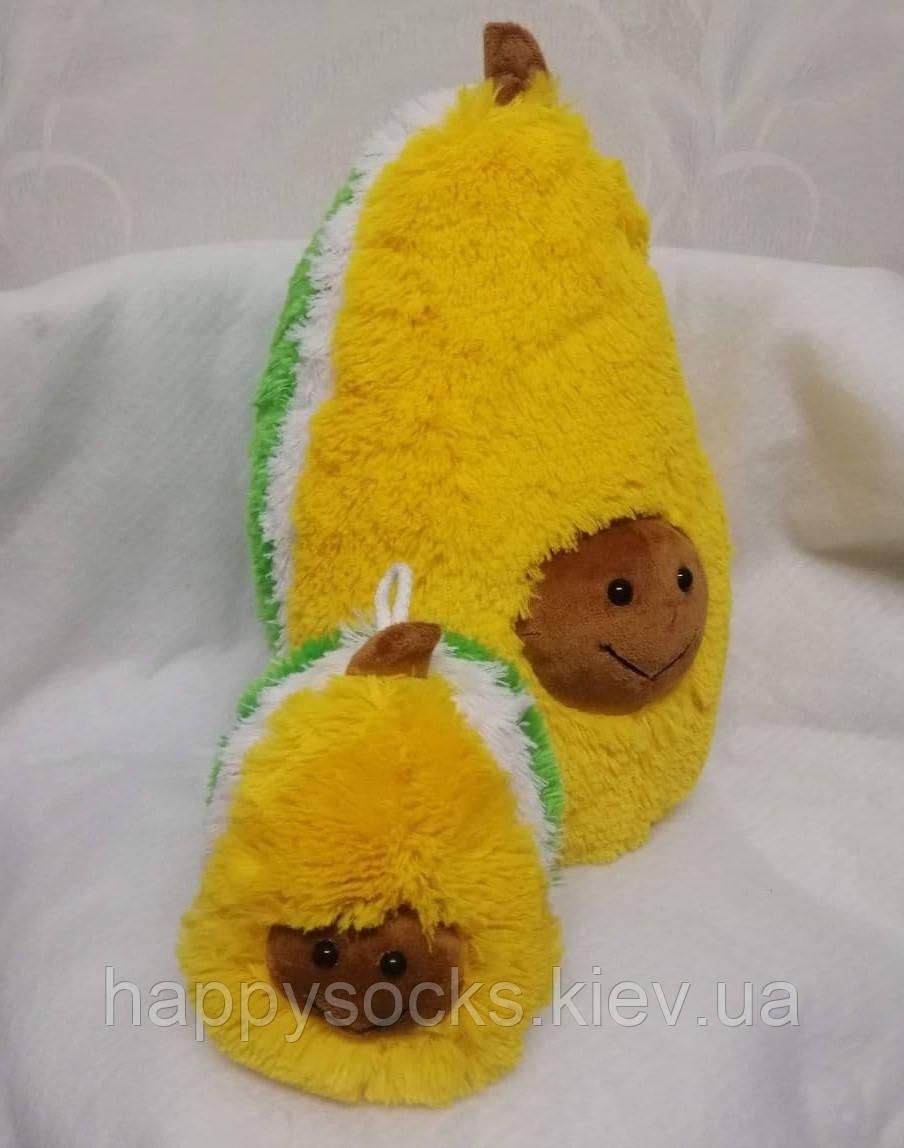 Подушка меховая Авокадо
