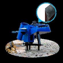 Подрібнювач гілок з приводом від трактора (одностороння заточка) (ДР14)