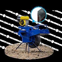 Подрібнювач гілок під бензиновий двигун (одностороння заточка) (ДР16)