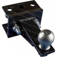 Переходной сцепной узел мототрактора (1 точка) под автомобильный прицеп (сц 38)