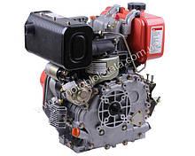 Двигун 178FE — дизель (під шліци Ø25 мм) (6 к. с.) з електростартером