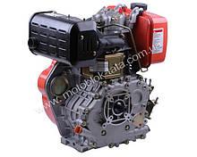 Двигатель 186F — дизель (под шлицы Ø25 mm) (9 л.с.)