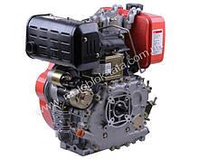 Двигатель 186FE — дизель (под шлицы Ø25 mm) (9 л.с.) с электростартером